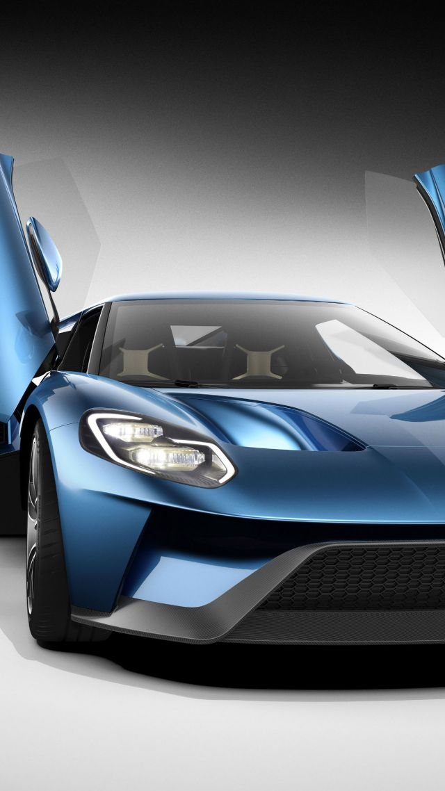 CES 2016, Ford GT, EcoBoost, 600hp (vertical)