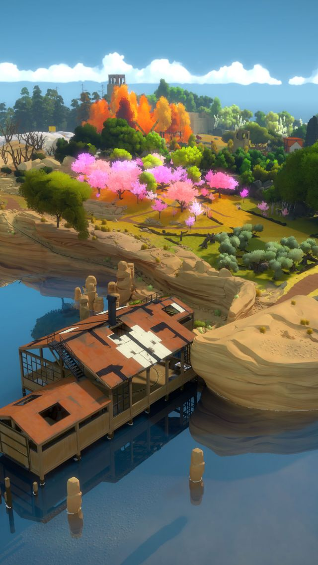The Witness, puzzle, quest, PC, Xbox One, PS4 (vertical)