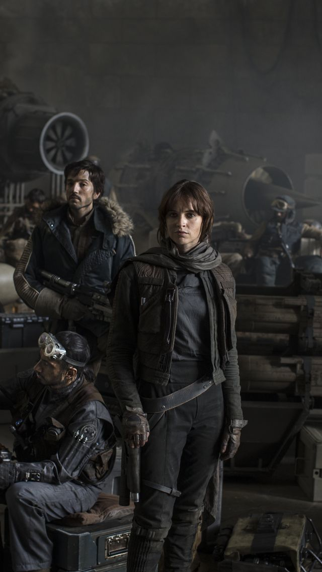 Rogue One: A Star Wars Story, Felicity Jones, Best Movies, movie (vertical)