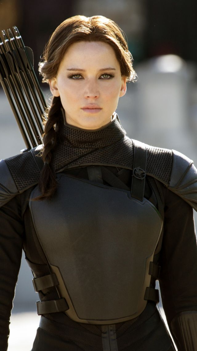 Jennifer Lawrence as Katniss (With images) | Hunger games