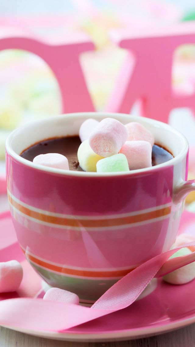 Valentine's Day, romatic, cup, coffee, rose, love