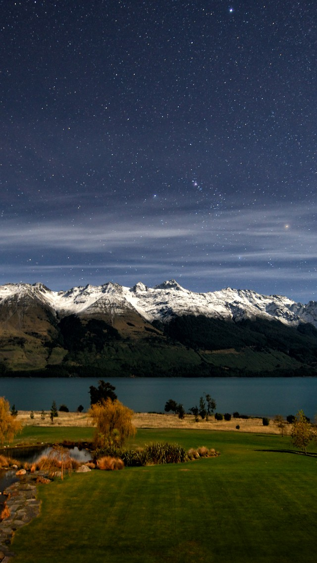 Wallpaper New Zealand 4k Hd Wallpaper Queenstown Lake