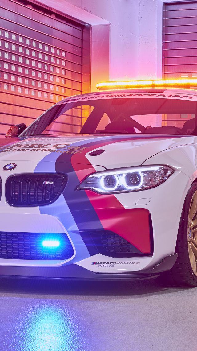 wallpaper bmw m2 coupé motogp safety car sport car cars bikes