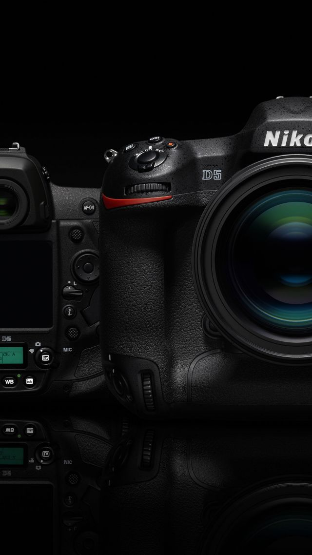 Wallpaper Nikon D5 Camera Dslr Digital Review Body 4k Video