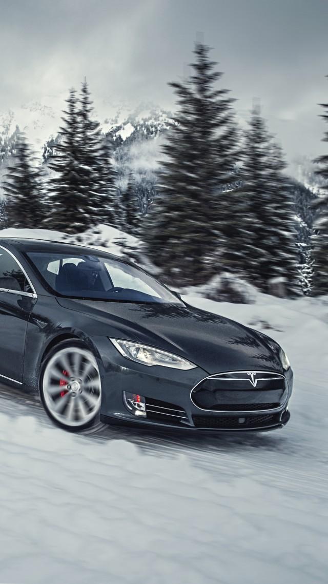 Suv Tesla Model S P85D Quickest Electric Cars Sport