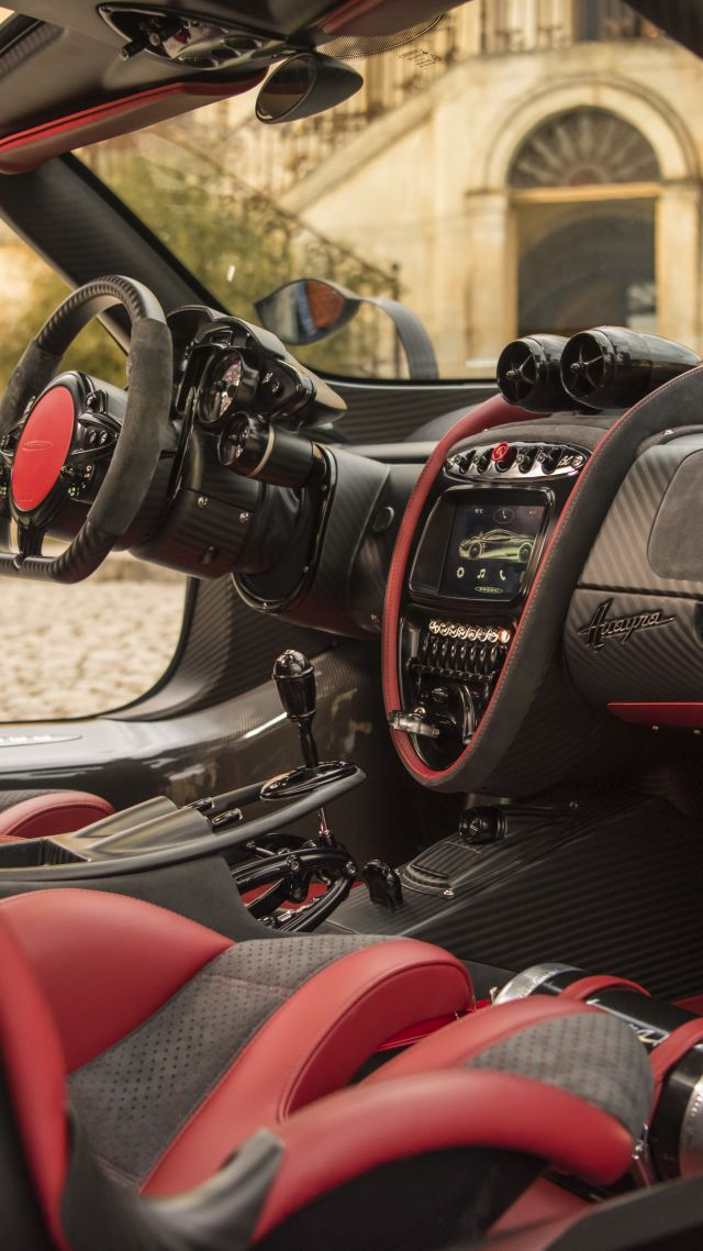wallpaper pagani huayra bc geneva auto show 2016 ultra light super car sport car interior. Black Bedroom Furniture Sets. Home Design Ideas