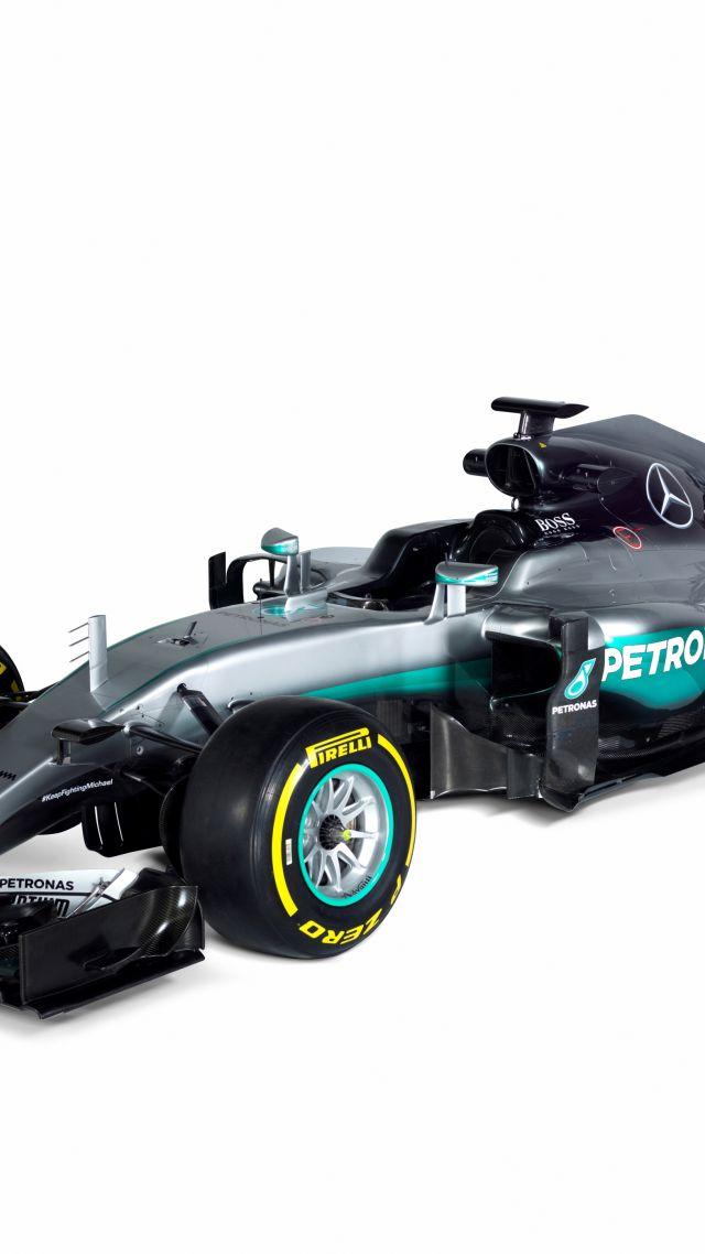 Wallpaper Mercedes Amg F1 W07 Hybrid Formula 1 Testing Live From