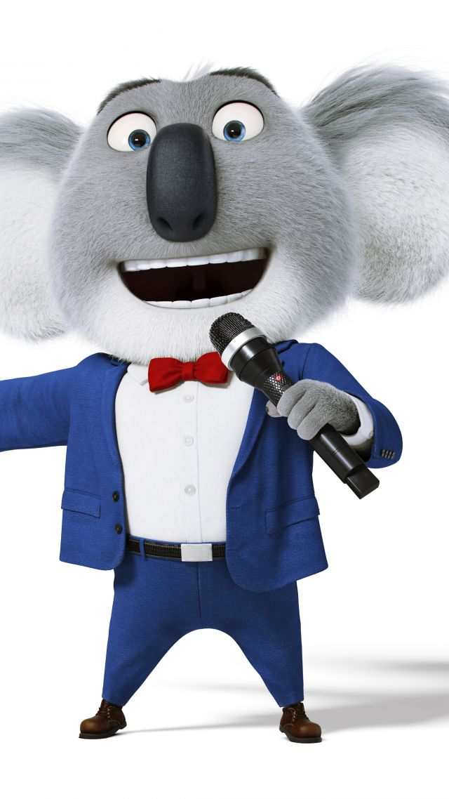 Wallpaper Sing Koala Buster Matthew Mcconaughey Best