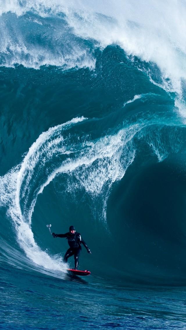 Wallpaper Surfer 4k Hd Wallpaper Storm Surfers Ocean