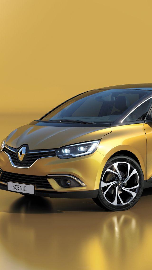 Wallpaper Renault Scenic Geneva Auto Show 2016 Minivan