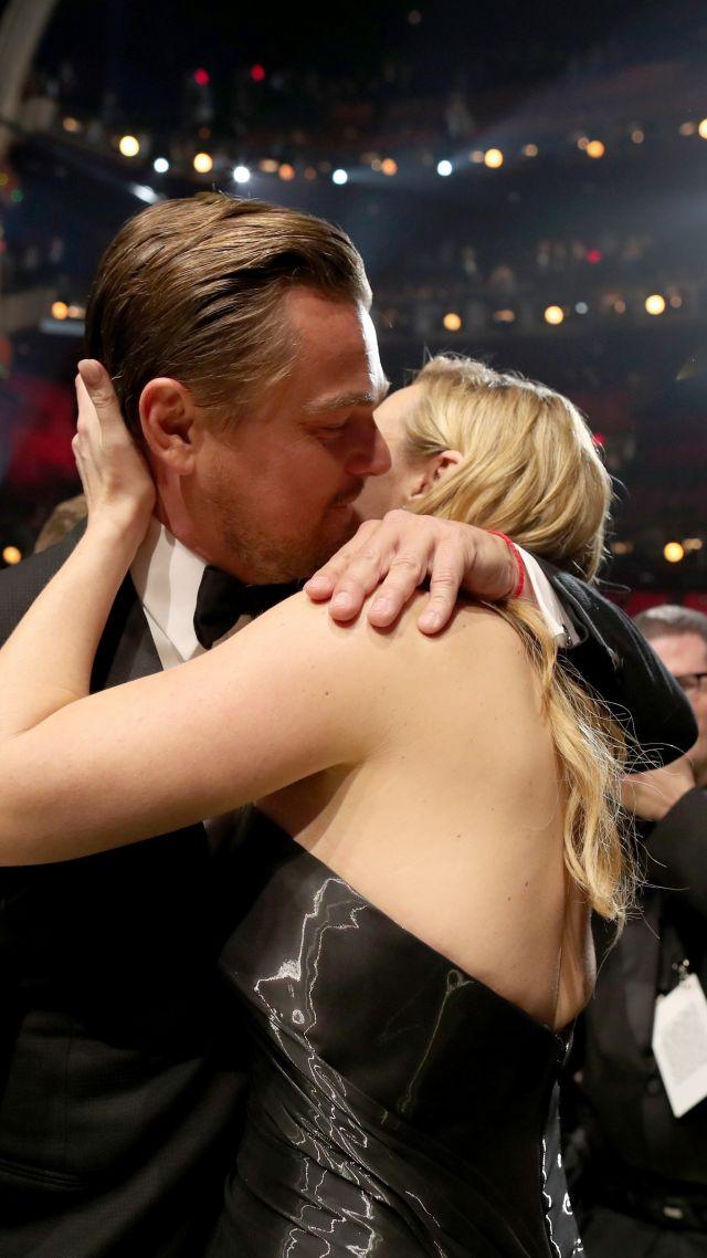 Wallpaper Leonardo Dicaprio Kate Winslet Oscar 2016