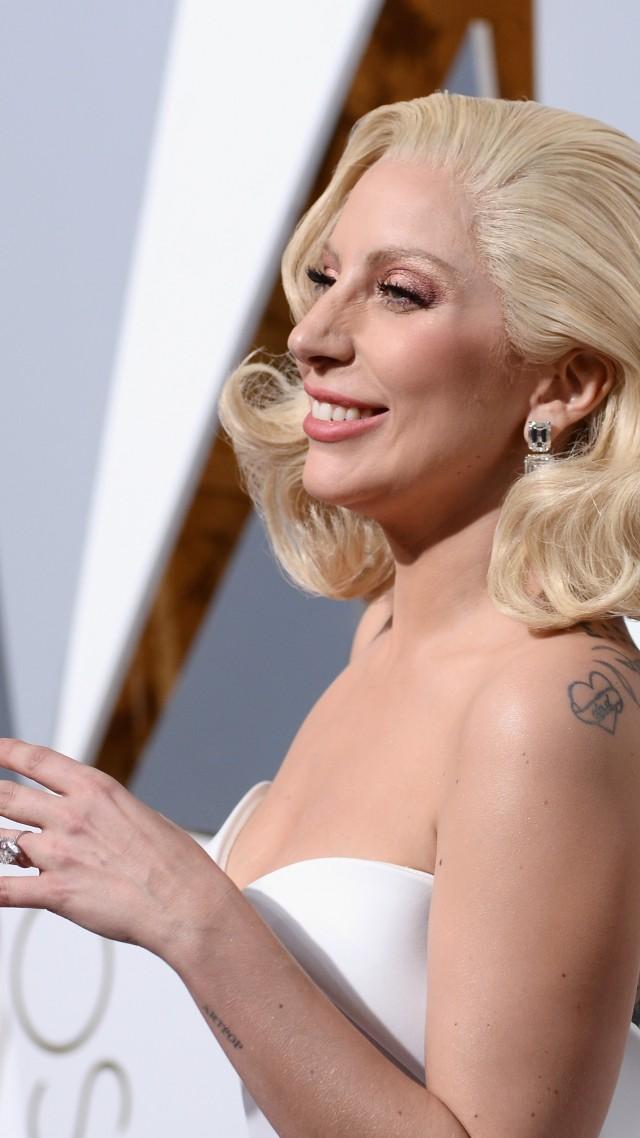 Wallpaper Lady Gaga Oscar 2016 Oscar Most Popular