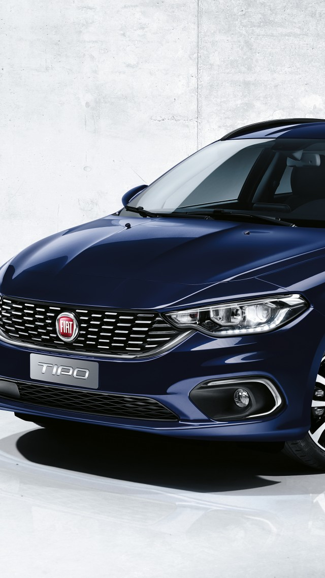 Fiat Tipo Station Wagon, Geneva Auto Show 2016, Hatchback (vertical)