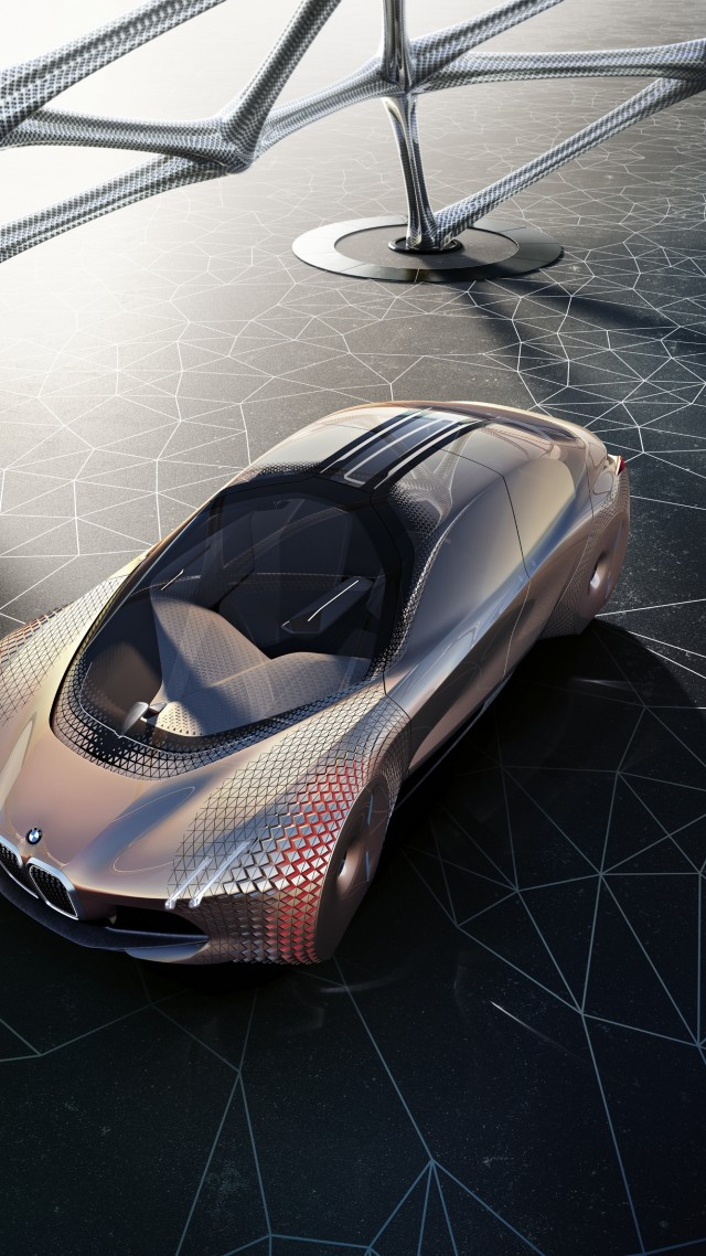 Wallpaper Bmw Vision Next 100 Future Cars Luxury Cars