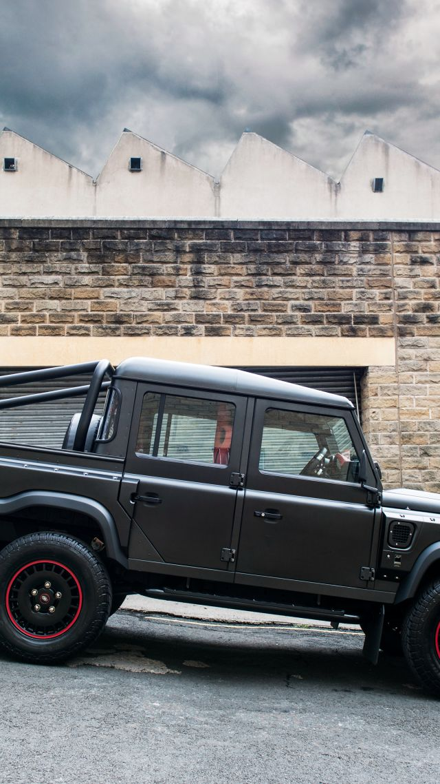 Project Kahn Flying Huntsman 110 6x6, Double Cab, Pickup, black (vertical)