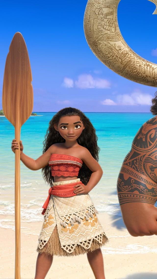 Wallpaper Moana, Maui, best animation
