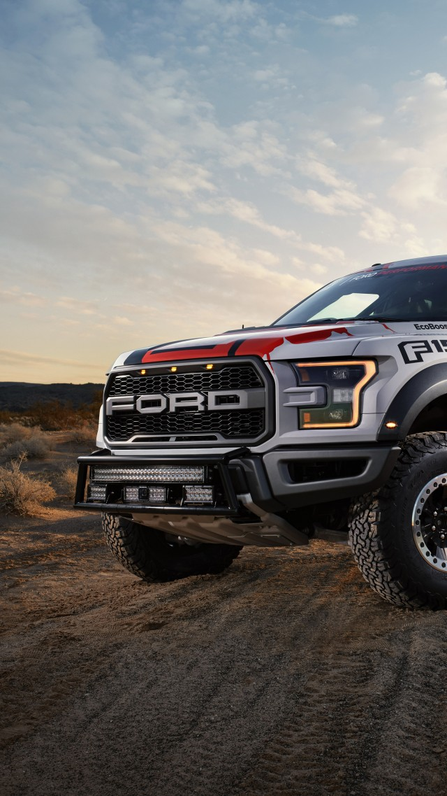 Ford F-150 Raptor, Race Truck (vertical)