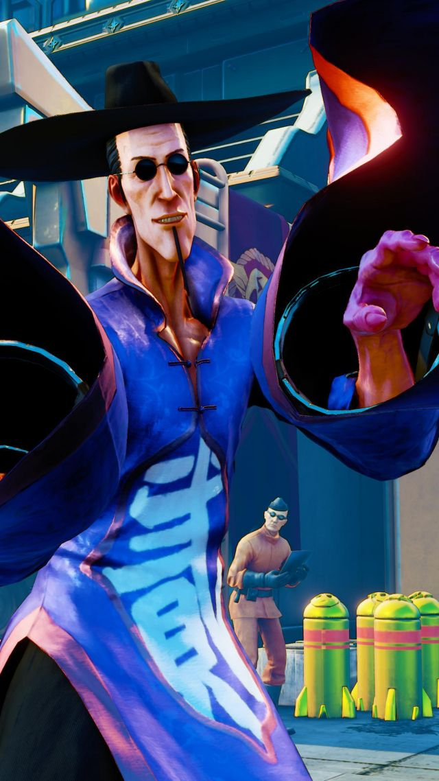 Street Fighter 5, F.A.N.G., Best Games, fantasy, PC, PS4 (vertical)