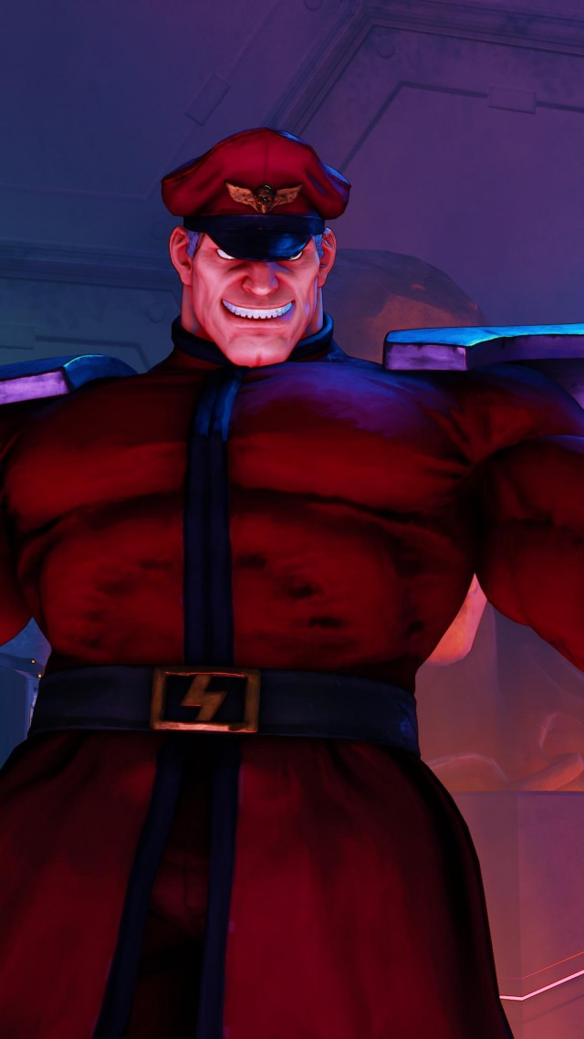 Street Fighter 5, M. BISON, Best Games, fantasy, PC, PS4 (vertical)