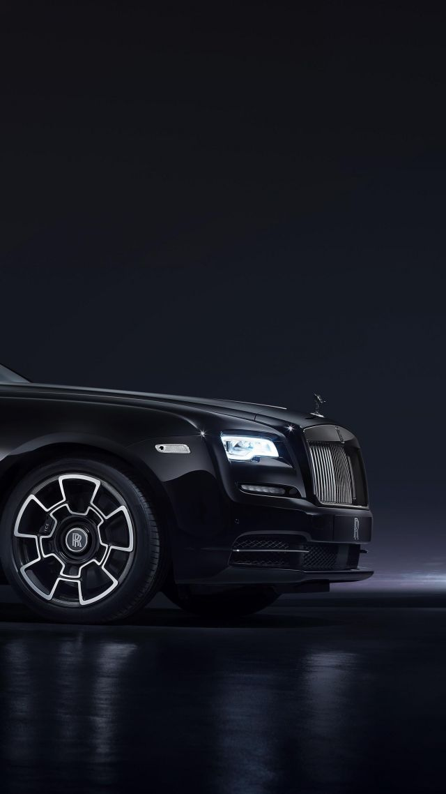 Wallpaper Rolls Royce Wraith Black Badge Geneva Auto Show 2016