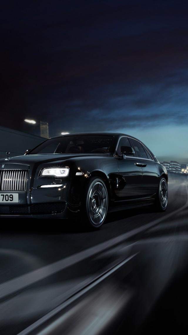 Rolls Royce Wraith Black Badge Geneva Auto Show 2016 Luxury Cars