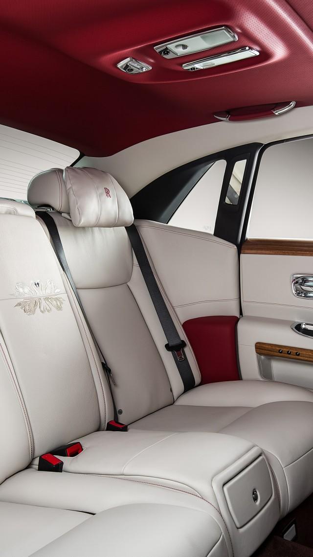 Wallpaper Rolls Royce Ghost Eternal Love Luxury Cars Interior