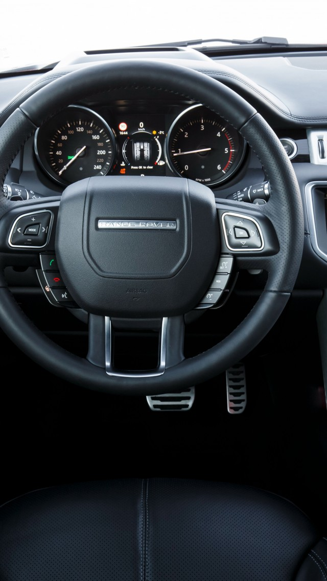 Wallpaper Range Rover Evoque Convertible Cabriolet Interior Cars