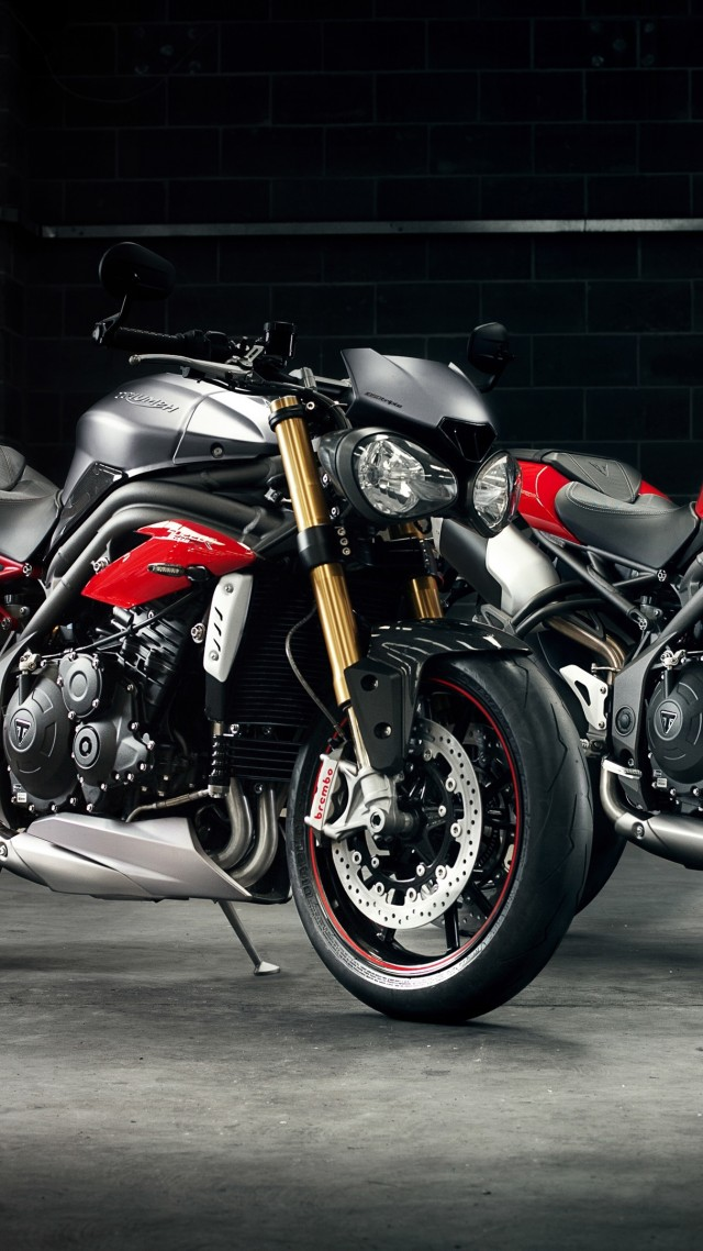 Triumph Speed Triple R, motorcycle
