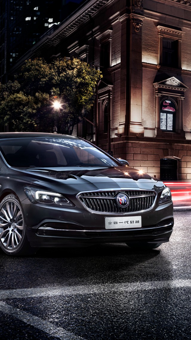 Buick LaCrosse, sedan, business, black (vertical)
