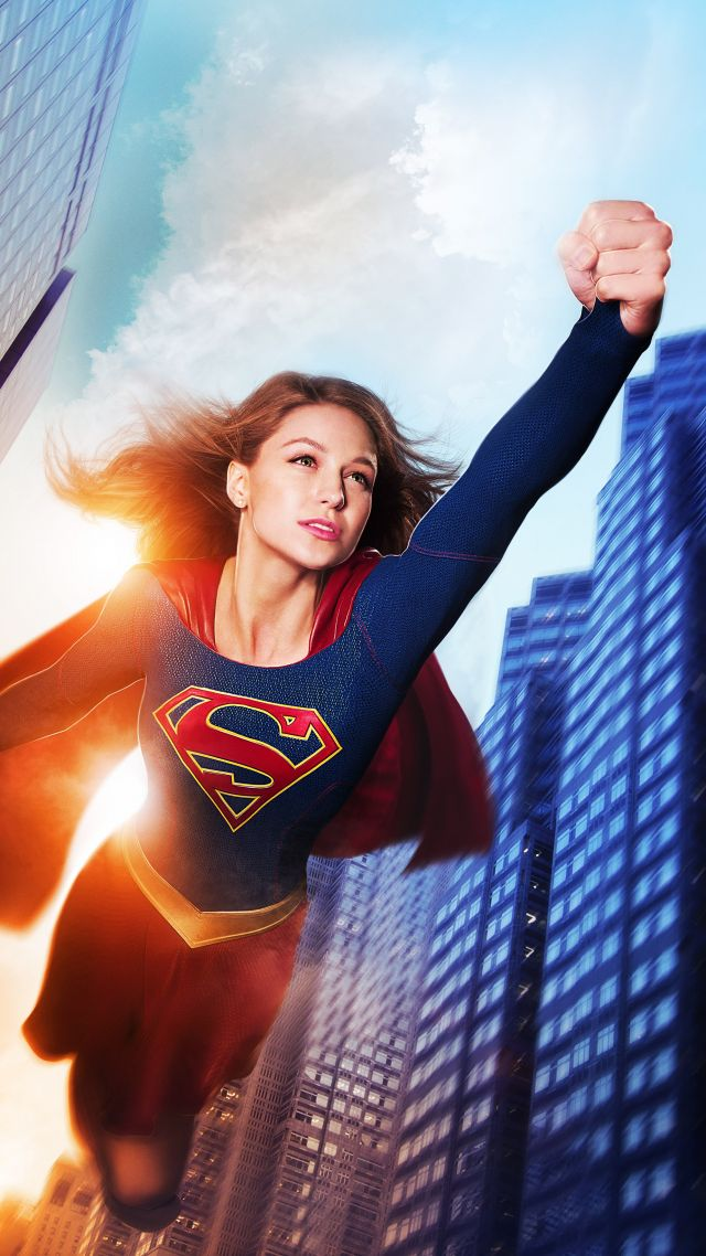 Wallpaper Supergirl Melissa Benoist Best Tv Series Movies