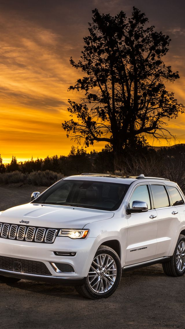 Wallpaper Jeep Grand Cherokee Summit, NYIAS 2016, suv ...