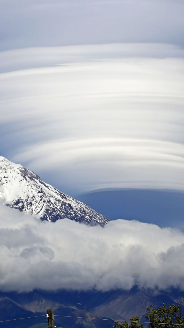 Lenticular cloud, mount
