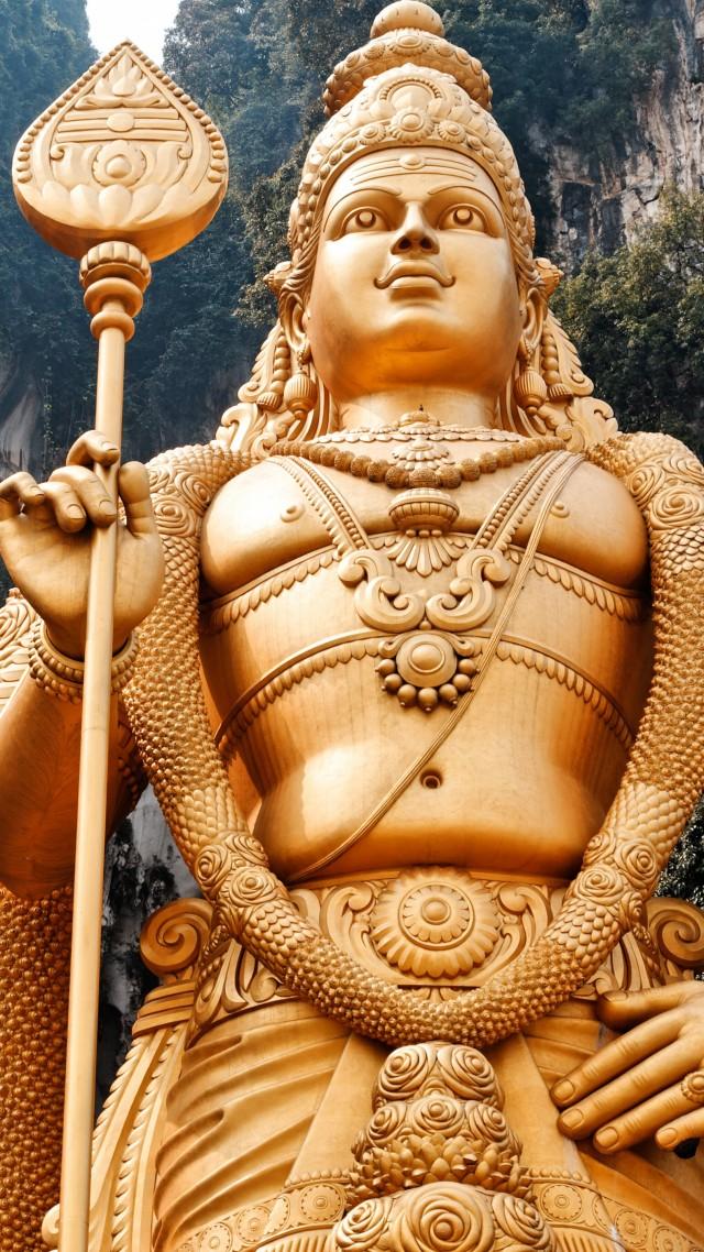 ... Lord Murugan Statue, Malaysia (vertical)