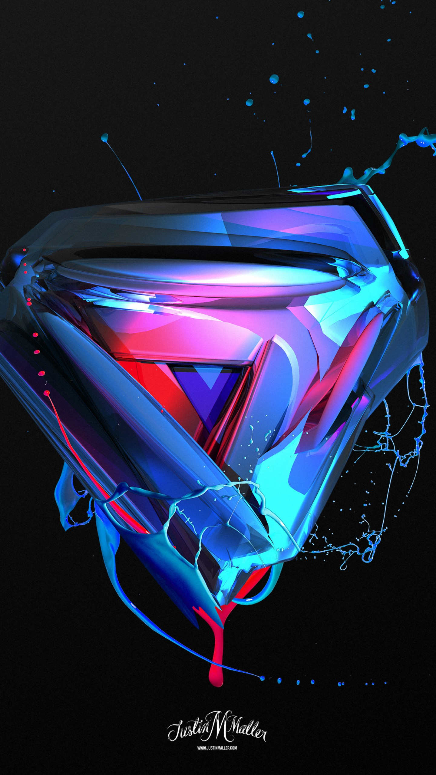 Wallpaper 3D, triangle, abstract, shapes, 4k, Abstract #17744