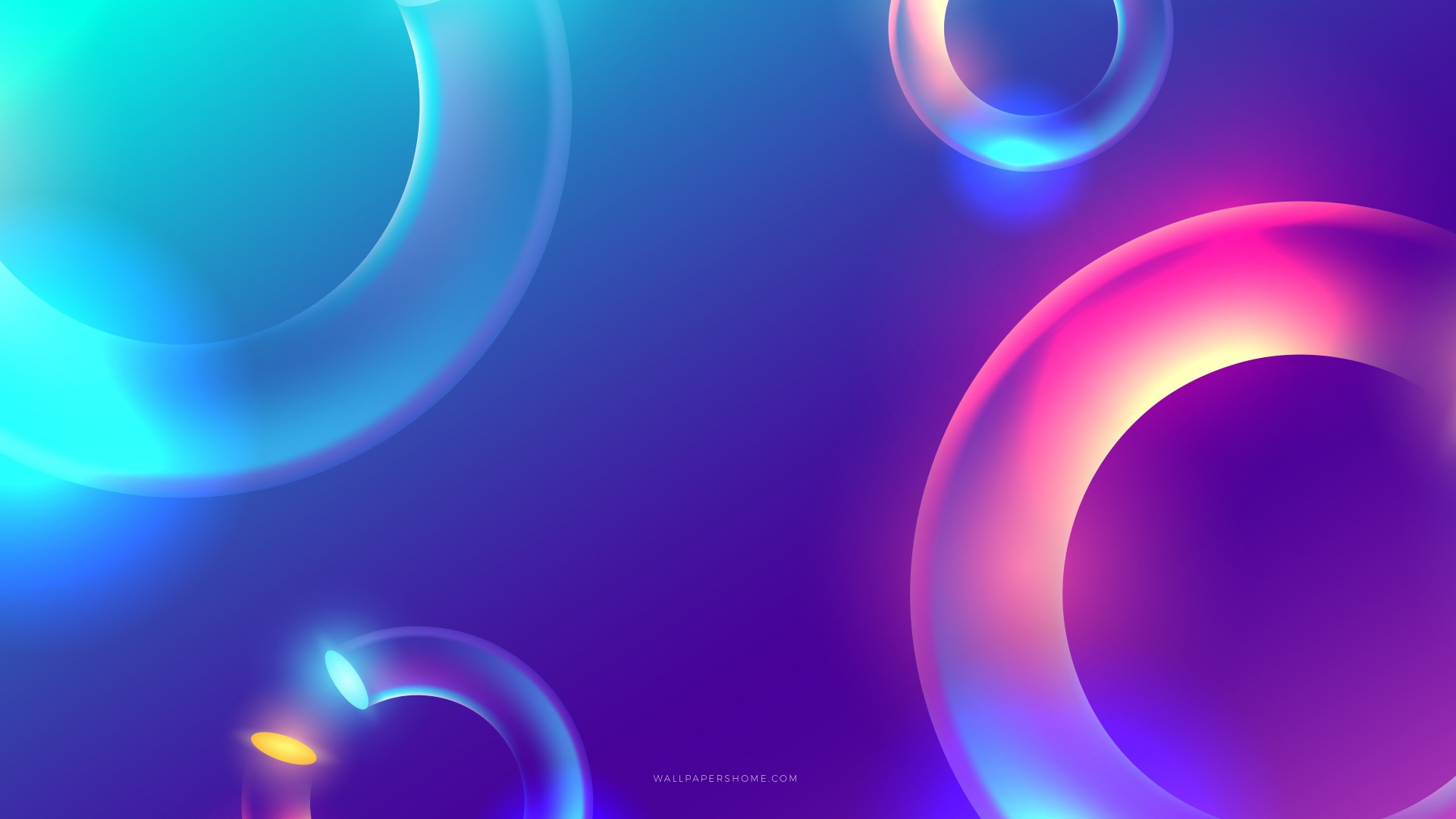 Wallpaper abstract, 3D, colorful, 8k, OS #21242