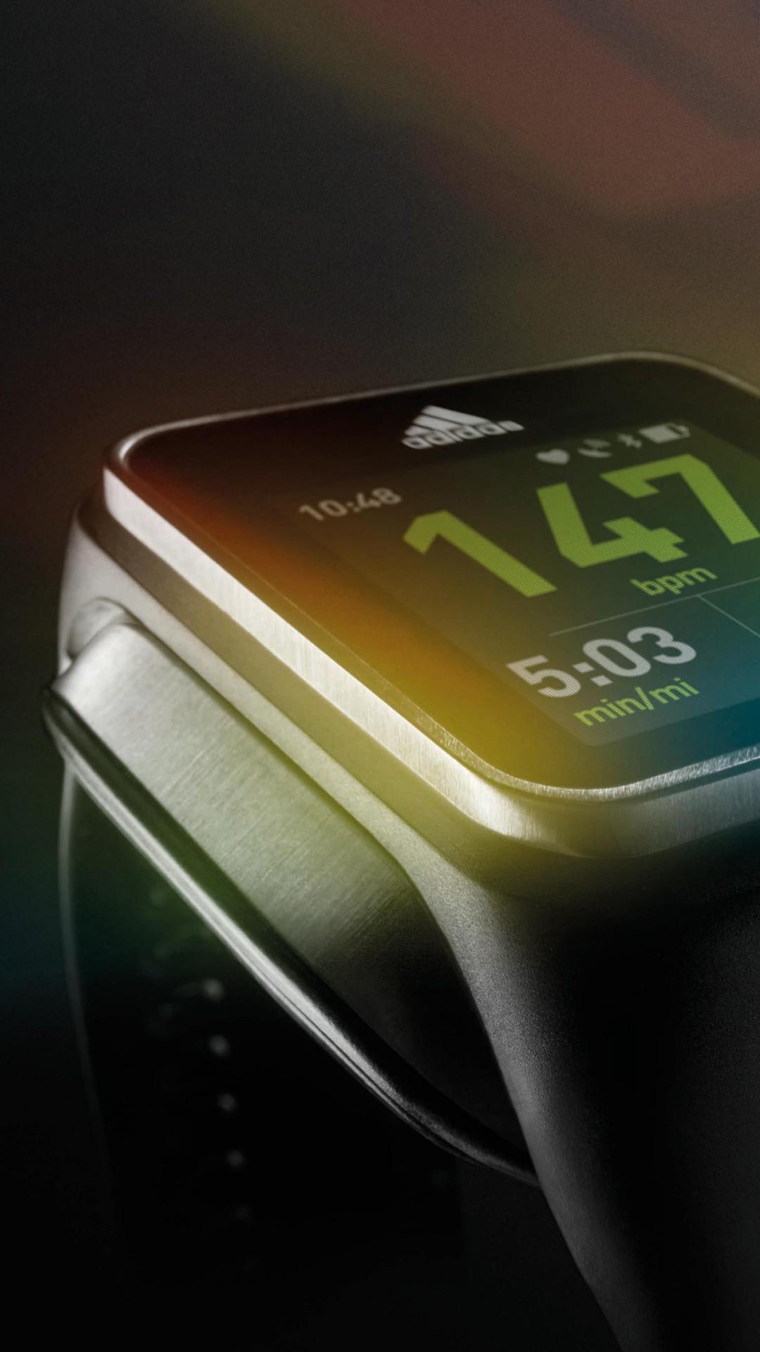 Wallpaper Adidas miCoach SMART RUN, smart watch, watches ...