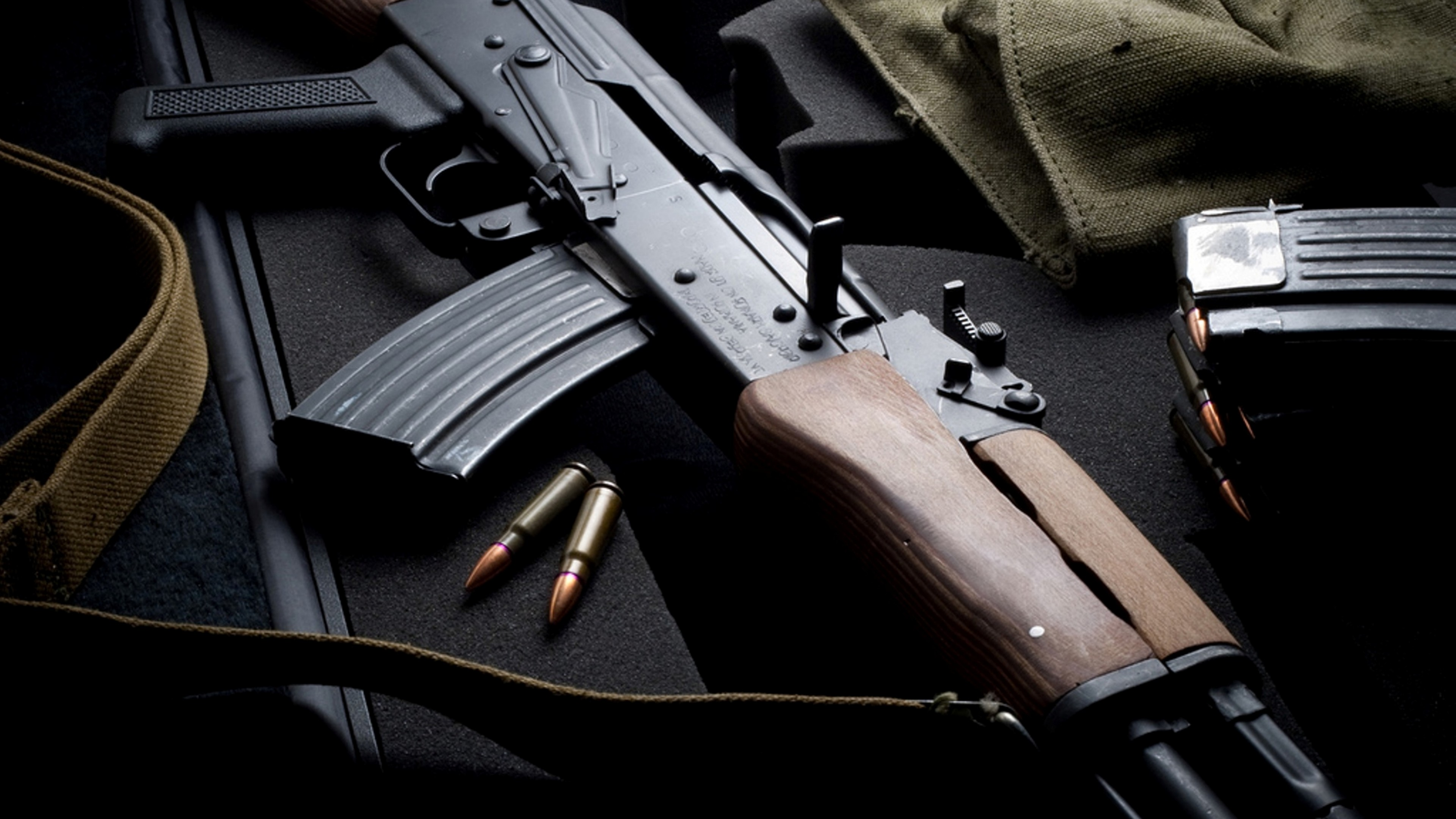Wallpaper AK 74 Kalashnikov 47 Assault Rifle Russia USSR