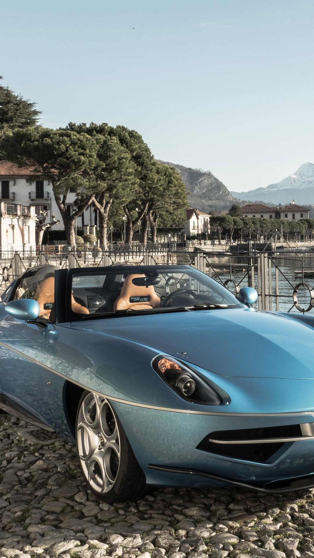 Alfa Romeo Disco Volante >> Wallpaper Alfa Romeo Disco Volante Spyder, Geneva Auto ...