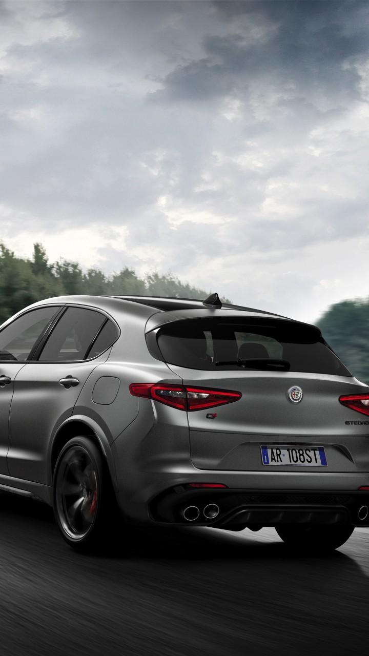 Wallpaper Alfa Romeo Stelvio Quadrifoglio, 2018 Cars, 4K