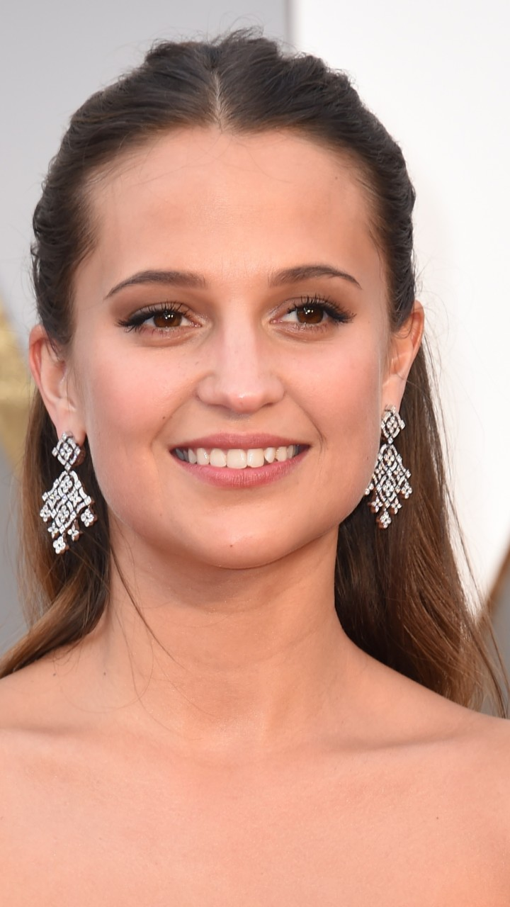 Wallpaper Alicia Vikander, Oscar 2016, Red Carpet, Most