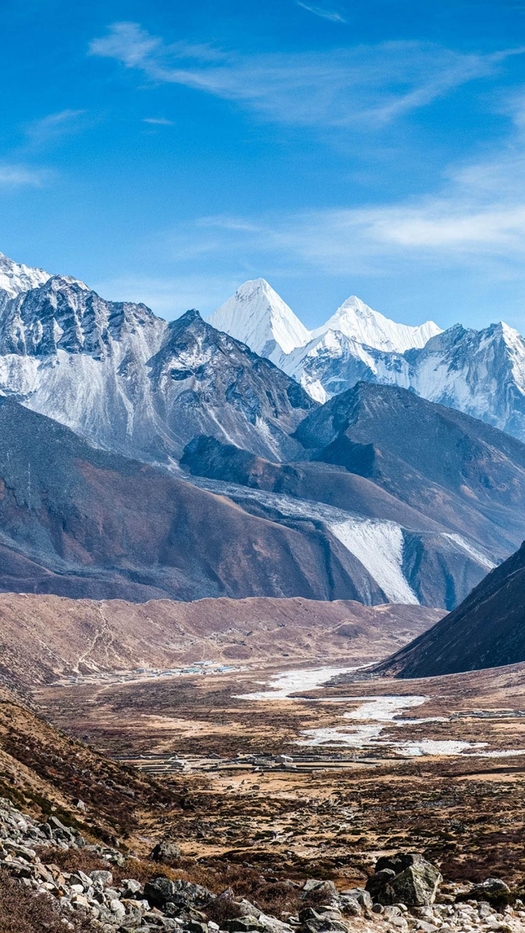 Wallpaper Ama Dablam Nepal Mountains 4k Nature 16555