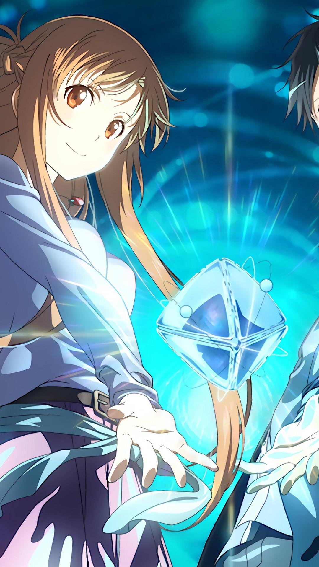 Wallpaper Anime Anime Couple Sword Art Online Movie Ordinal Scale Yuuki Asuna Kirigaya