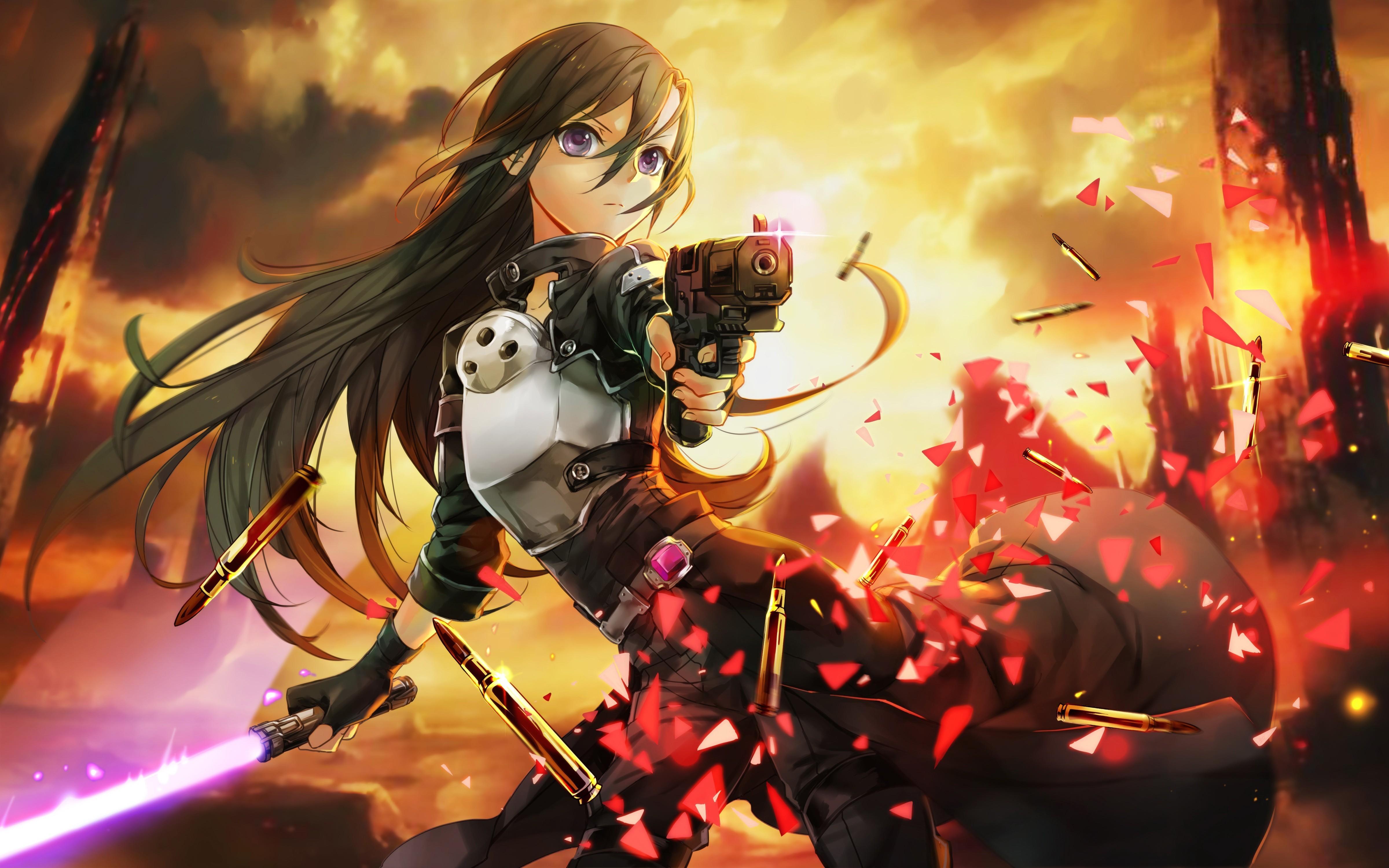 Hot Anime Girl Wallpaper