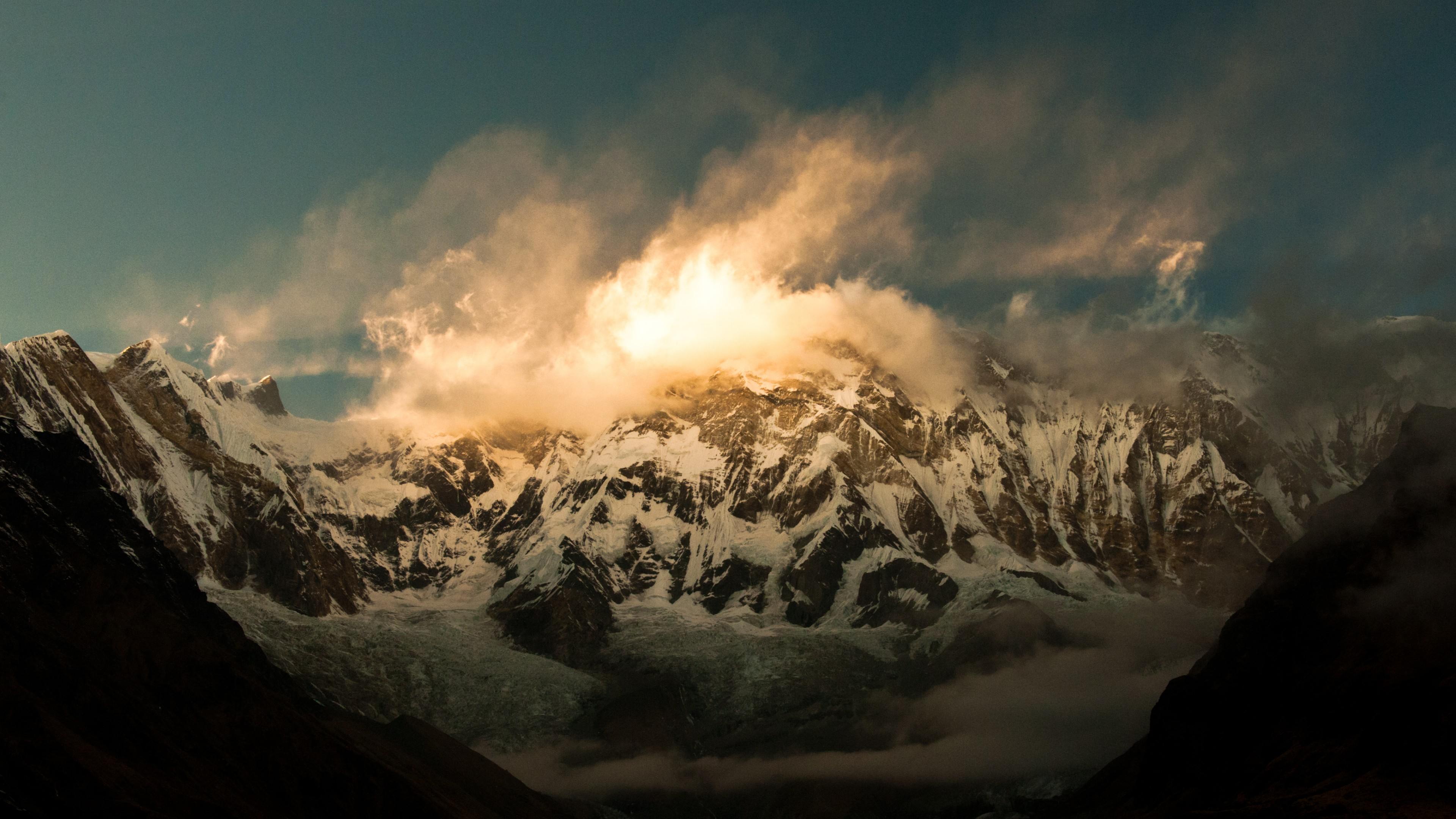 Wallpaper Annapurna 5k 4k Wallpaper Himalayas Nepal