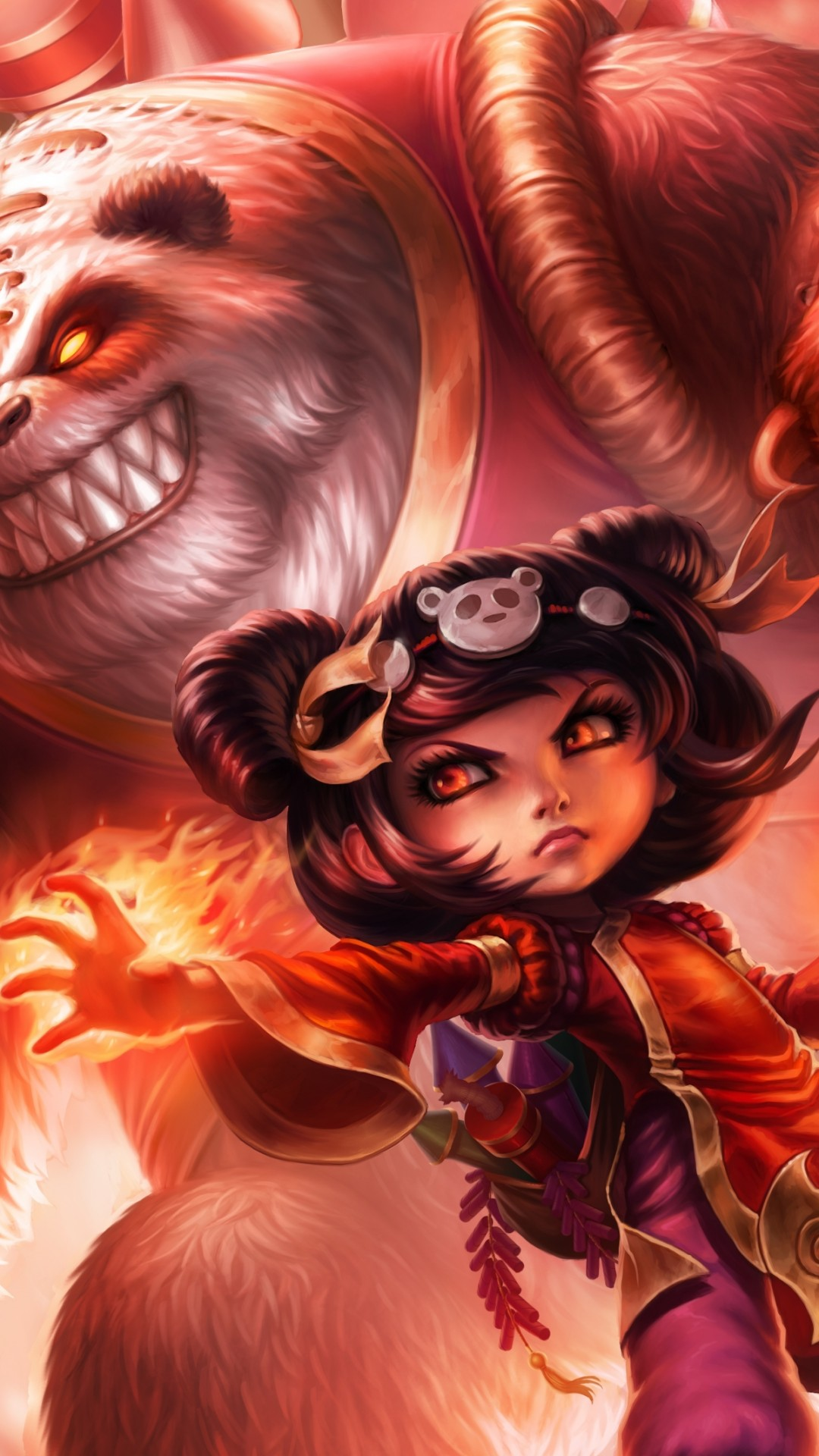 Wallpaper Annie League Of Legends Game Lol Moba Games