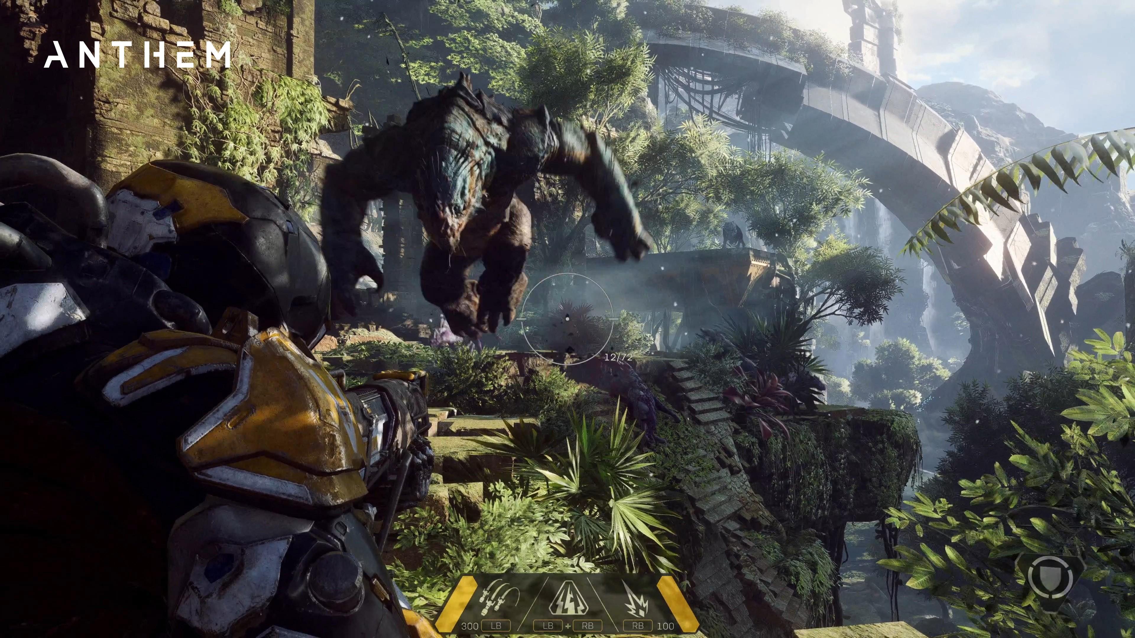 Wallpaper Anthem 4k Screenshot Gameplay E3 2017 Games 13824