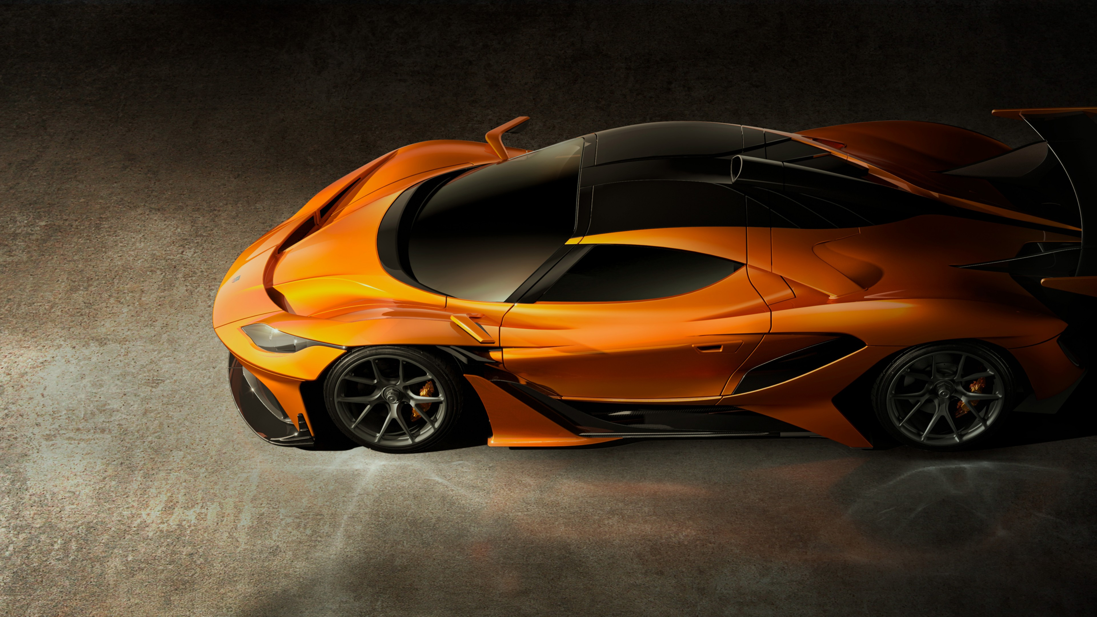 wallpaper apollo arrow geneva auto show  supercar hypercar speed orange cars bikes
