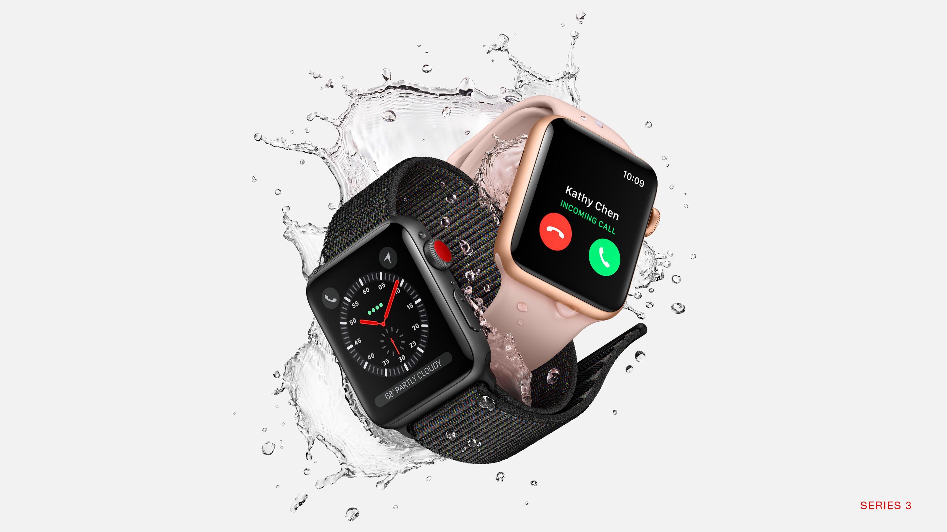 Wallpaper Apple Watch Series 3, WWDC 2017, 4k, HiTech 15696