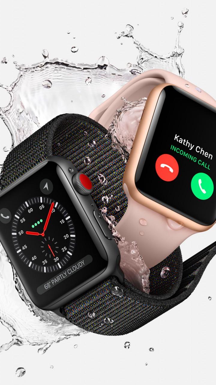 Wallpaper Apple Watch Series 3, WWDC 2017, 4k, Hi-Tech #15696