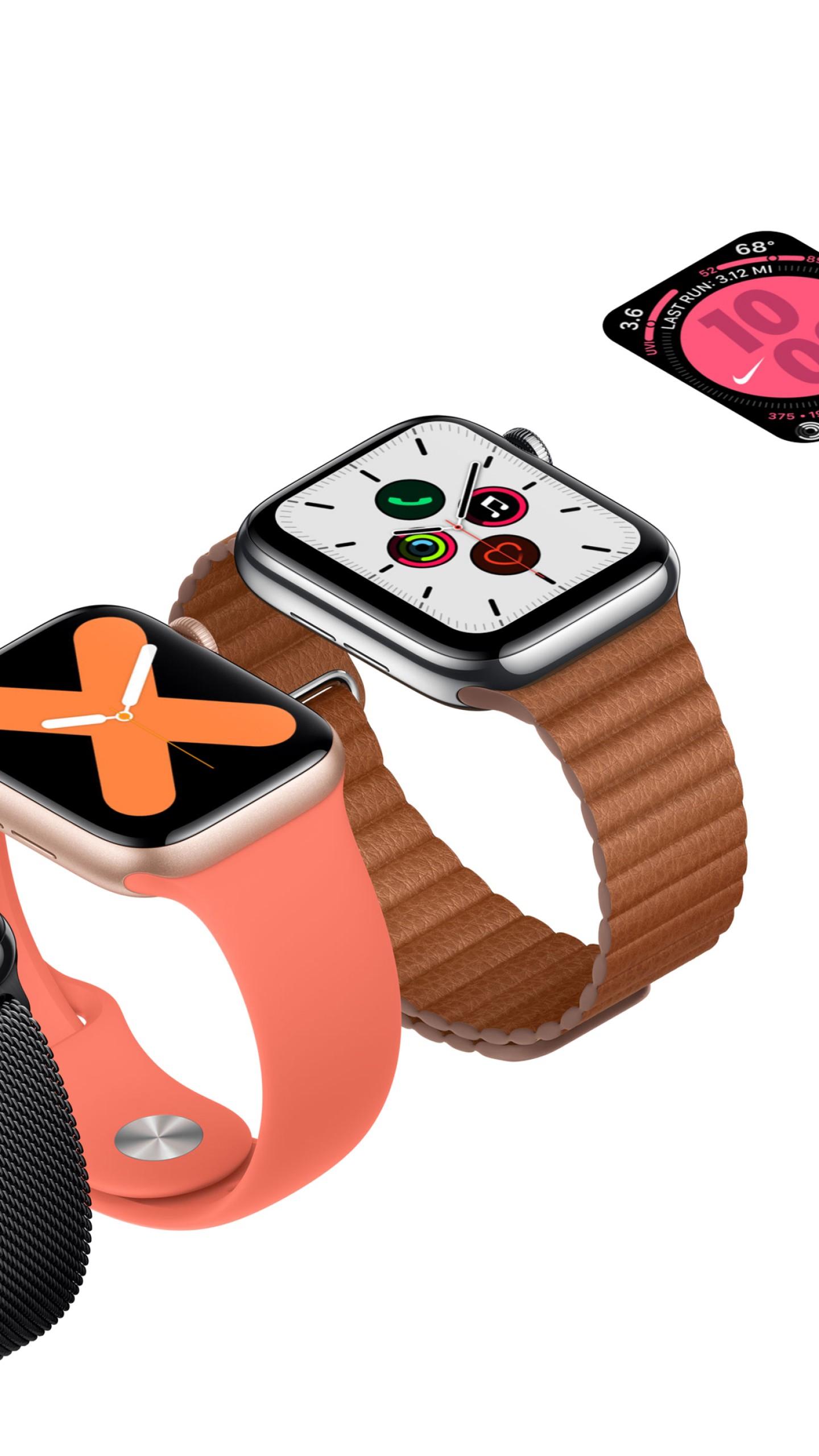 Wallpaper Apple Watch Series 5, Apple September 2019 Event ...